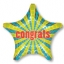 ลูกโป่งฟลอย์นำเข้า Congrats Retro Star / Item No. AG-28036 แบรนด์ Anagram ของแท้ thumbnail 1