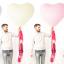 """ลูกโป่งหัวใจจัมโบ้ไซส์ใหญ่ 36"""" Latex Balloon HB Balloon PINK 3FT สีชมพู/ Item No. TQ-44445 แบรนด์ Qualatex thumbnail 9"""