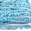 ปอมเส้นยาว ผ้าแถบ สีฟ้า กว้าง 2.5ซม (1พับ/20หลา) thumbnail 1