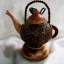 Coconut Shell Lamp (kettle) โคมไฟกะลามะพร้าวรูปกาน้ำ thumbnail 1