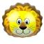 ลูกโป่งฟลอย์ หน้าสิงโต - Lion Face Foil Balloon / Item No. TL-B048 thumbnail 1