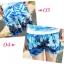 เสื้อคู่รัก ชุดคู่รักเที่ยวทะเลชาย +หญิง เสื้อยืดสีขาวลายคนติดเกาะ กางเกงขาสั้นลายต้นมะพร้าวโทนสีฟ้า +พร้อมส่ง+ thumbnail 3