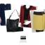 กระเป๋าหนังปั้มลาย เกรดA แบรนด์ OPPO สีดำ ยกชุดได้ 3 ใบ คุณภาพดี(รับประกันของแท้เหมือนแบบ 100%) VIP : 1500 thumbnail 3