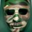 หน้ากากการแสดง, บีบีกัน สีพรางเขียว thumbnail 1