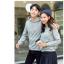 เสื้อกันหนาวคู่รักพร้อมส่ง แฟชั่นคู่รัก ชาย +หญิงเสื้อกันหนาวแบบสวม มีฮูด สีเทา thumbnail 3