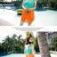 พร้อมส่ง ชุดว่ายน้ำทรงแซก เซ็ต 2 ชิ้น โทนสีเขียวส้ม ชุดแซกแต่งระบายน่ารักมากๆ (ชุดแซก + กางเกงขาสั้น) thumbnail 3