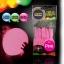 ลูกโป่ง LED สีชมพู แพ็ค 5 ชิ้น ไฟสว่างเหมือนโคมไฟ (LED Pink Balloon - LED Fixed Mode) thumbnail 2