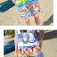 เสื้อคู่รัก ชุดคู่รักเที่ยวทะเลชาย +หญิง เสื้อยืดสีขาวลายสวีทริมทะเล กางเกงขาสั้นลายไทยโทนสีส้ม +พร้อมส่ง+ thumbnail 8