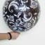 """ลูกโป่งกลมพิมพ์ลาย Damask Print Balloons (Black & White) แพ็คละ 10 ใบ(Round Balloons 12""""- Printing Damask Print Balloons (Black & White) thumbnail 4"""