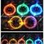 เชือกผูกรองเท้าไฟกระพริบ LED สีส้ม รหัส LD002 thumbnail 3