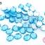 เพชรแต่ง ทรงรี สีน้ำเงินอ่อน มีรู 8X10มิล(20ชิ้น) thumbnail 1