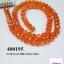 คริสตัลจีน ทรงซาลาเปา สีส้ม 8 มิล (1เส้น) thumbnail 1