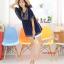 K11051 เสื้อคลุมท้องแฟชั่นเกาหลี โทนสีม่วง ผ้านิ่มมากๆ ค่ะ ใส่สบาย ใส่หลวมๆ ใส่คู่กับกางเกงดูน่ารักมากๆ ค่ะ thumbnail 3