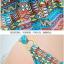 พร้อมส่ง ชุดว่ายน้ำบิกินี่ สายคล้องคอ สไตล์โบฮีเมียน สีฟ้าอมเขียว พร้อมชุดคลุมแซกสวย เซ็ต 3 ชิ้น (บรา+บิกินี่+ชุดแซก) thumbnail 8