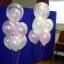 """ลูกโป่งกลมสีใส พิมพ์ลายดาว ไซส์ 12 นิ้ว แพ็คละ 10 ใบ (Round Balloons 12"""" - Printing Star Clear latex balloons) thumbnail 7"""