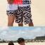 PRE กางเกงขาสั้นคู่รัก Couple beach pant ลายม้าลายสุดชิค thumbnail 2