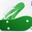 รองเท้าแตะ Hippo Bloo ฮิปโป บลู ลายจุด สีเขียว เบอร์ 9,9.5,10 thumbnail 4