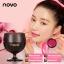 ์Novo Red Wine Lipstick ลิปแก้วไวน์ 1 เซต 2 สี ราคาปลีก 120 บาท / ราคาส่ง 96 บาท thumbnail 3