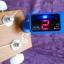 เครื่องตั้งสาย จูนเนอร์ Tuner สีดำ ฟ้า ม่วง อูคูเลเล่ Ukulele กีต้าร์ Guitar เบส Bass AROMA AT-100 thumbnail 9