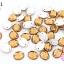 เพชรแต่ง ทรงรี สีน้ำตาล มีรู 8X10มิล(20ชิ้น) thumbnail 1