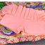 พร้อมส่ง ชุดว่ายน้ำกางเกงกระโปรง เซ็ต 3 ชิ้น สีส้มโอรส (บรา+กางเกงกระโปรง+เสื้อคลุมผ้าซีทรูลายดอกไม้) thumbnail 12