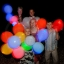 ลูกโป่ง LED สีน้ำเงิน แพ็ค 5 ชิ้น ไฟสว่างเหมือนโคมไฟ (LED Blue Balloon - LED Fixed Mode) thumbnail 5