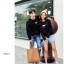 เสื้อแขนยาวคู่รัก เสื้อผ้าแฟชั่น ชาย +หญิง เสื้อแขนยาว สีดำ แต่งลายผึ้ง +พร้อมส่ง+ thumbnail 7
