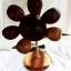 Coconut Shell Lamp , Sun Flower (โคมไฟกะลามะพร้าวดอกทานตะวัน) thumbnail 1