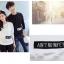 เสื้อแขนยาวคู่รัก เสื้อผ้าแฟชั่น ชาย สีดำ +หญิง สีขาว เสื้อแขนยาว แต่งแถบข้อความมุมขวาล่าง +พร้อมส่ง+ thumbnail 4