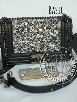 KEEP ( Shoulder Diamond Chain Bag - Basic )