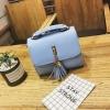 กระเป๋าสะพายข้างผู้หญิง Lovely girl สีฟ้า