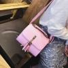 กระเป๋าสะพายข้างผู้หญิง Lovely girl สีชมพู