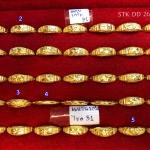 แหวนทองแท้ 96.5% หนัก 1 กรัม ไซส์ 51