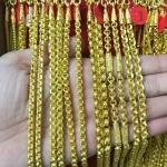 สร้อยคอทองแท้ 96.5% หนัก 1 บาท /ลายโปร่ง