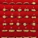 แหวนทองแท้ 96.5% หนัก 0.6 กรัม size 48