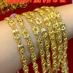 สร้อยข้อมือทองแท้ 96.5% หนัก 1 สลึง (3.8 กรัม) ยาว 15 เซน
