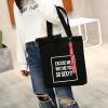 กระเป๋าผ้า LD002 black