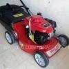 """รถตัดหญ้า 4 ล้อเข็น """"PATCO"""" #PATCO19AL โครงอลูมิเนียม จานกลม 4 ใบมีด (lawn mover body aluminium)"""