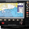 """GPS Plotter 7"""" Color Screen with 25 watt VHF FM Marine Transceiver Model CVP350"""