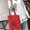 กระเป๋าผ้า LD002 red