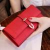 กระเป๋าสตางค์ผู้หญิง Table Top สีแดง