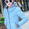 เสื้อกันหนาว พร้อมส่ง สีฟ้า ผ้าร่ม กันลมหนาวได้ดีเลยค่ะ อุ่นมากๆ แบบซิบรูด มีฮูทสุดเท่ห์