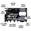 การ์ดเครื่องมืออเนกประสงค์ 18 in 1 Wallet Ninja