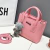 กระเป๋าสะพายข้างผู้หญิง Girl Tools Pink แถมหมี