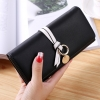 กระเป๋าสตางค์ผู้หญิง Ribbon Cute สีดำ