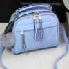 กระเป๋าถือ Pretty bag สีฟ้า