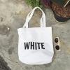 กระเป๋าผ้า LD004 White ฮิต!!