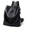 กระเป๋าสะพายข้างใบใหญ่ ฺ3in1 ฺBlack สีดำ