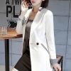 เสื้อสูทแฟชั่น เสื้อสูททำงาน เสื้อสูทผู้หญิง พร้อมส่ง เสื้อสูทสีขาว เนื้อผ้าโพลีเอสเตอร์ คอตตอน 100 % คุณภาพดี