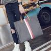 กระเป๋าสะพายข้างใบใหญ่ ฺBeclock สีเทา